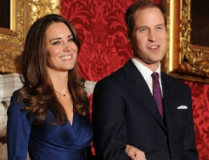 Kate Middleton e o príncipe galês Willian