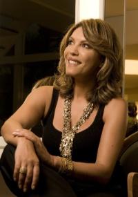 Apresentadora Márcia Goldschmidt, ex-Band