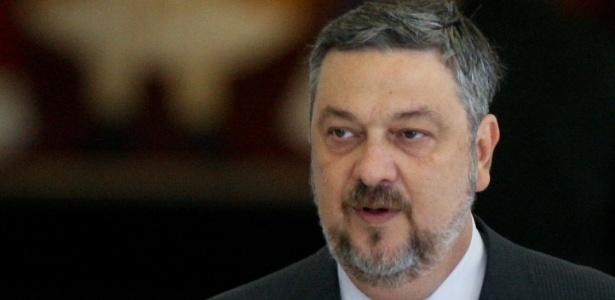 O ex-ministro Antonio Palocci