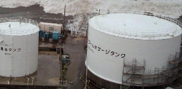 Reator nuclear da usina de Fukushima, no Japão, atingida por tsunami em 2011