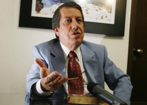 O bispo R.R. Soares, líder da Igreja Internacional da Graça de Deus