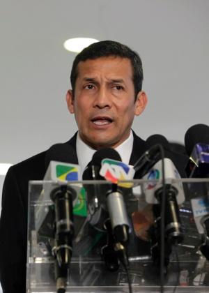 Ollanta Humala, presidente do Peru