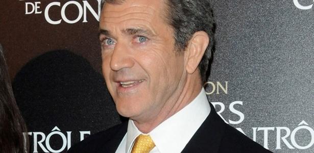 """O ator Mel Gibson na première de """"Edge Of Darkness"""" em Paris (4/2/2010)"""