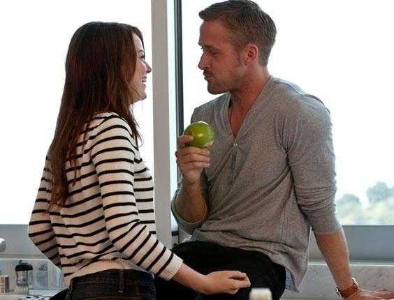 """Emma Stone e Ryan Gosling nas primeiras imagens do filme """"Amor a Toda Prova"""""""