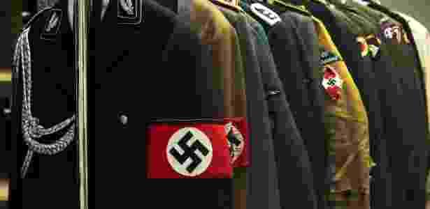 Hugo Boss forneceu uniformes para o exército alemão durante a Segunda Guerra - Don Emmert/AFP