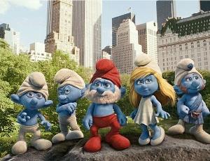 """""""Os Smurfs"""" voltam com visita a Nova York e versão em 3D"""