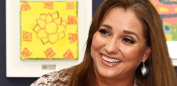 """Atriz mexicana Gabriela Rivero, a professora Helena da novela """"Carrossel"""" mexicana, em visita ao Brasil em 2011"""