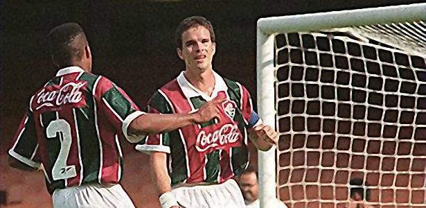 O Super Ézio fez história vestindo a camisa do Fluminense: 118 gols em 236 jogos