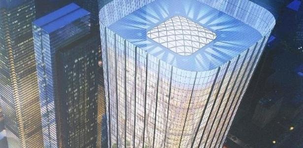 """O """"China Zun"""" será um dos maiores prédios do país"""