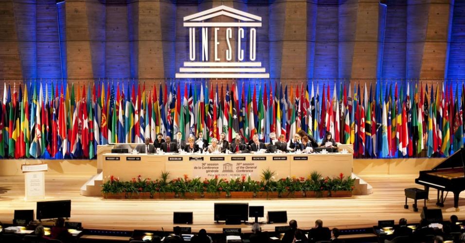 Conferência Geral da Unesco, agência cultural da ONU, sediada em Paris