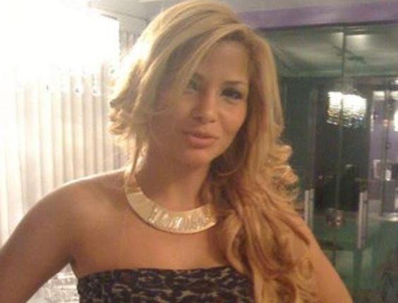 Danúbia de Souza Rangel, 27, namorada do ex-chefe do tráfico de drogas na Rocinha, Antônio Bonfim Lopes, o Nem