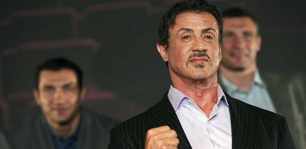 Sylvester Stallone lança musical de Rocky Balboa na Alemanha - CHRISTIAN CHARISIUS/AFP