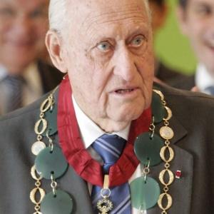 Fotografia de arquivo de julho de 2007 do ex-presidente da Fifa e membro do Comitê Olímpico Internacional (COI), Joao Havelange