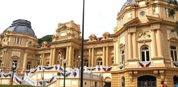 Palácio da Guanabara, sede do governo do Rio de Janeiro