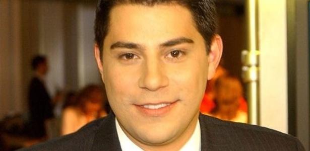 Evaristo Costa, jornalista e apresentador do Jornal Hoje, da Globo