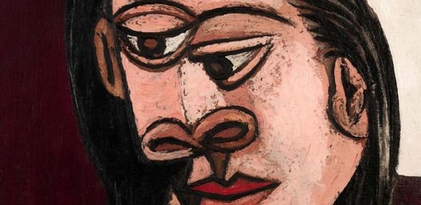 """Quadro """"Cabeça de Mulher"""", de Picasso roubado de museu em Atenas recentemente - Reprodução"""