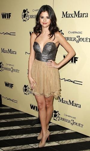A cantora e atriz Selena Gomez, namorada de Justin Bieber