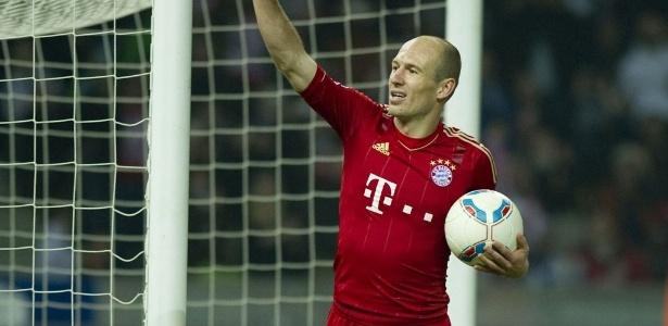 Robben é o principal destaque do Bayern, adversário escolhido para inaugurar Arena