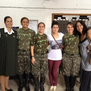 """Fernanda Paes Leme inicia laboratório para interpretar a tenente Márcia em """"Salve Jorge"""" (27/3/12)"""