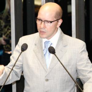 Demóstenes Torres (DEM-GO) fala no Senado - Lula Marques/Folhapress