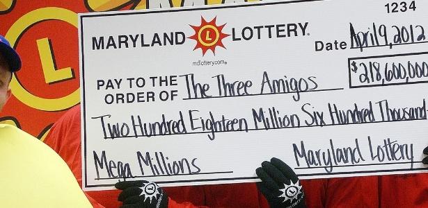 Loteria de Maryland já pagou prêmios milionários aos vencedores