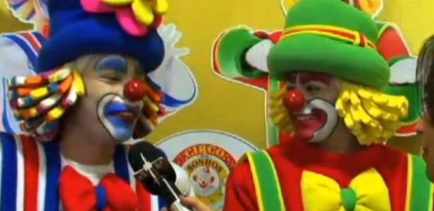 Patati e Patatá apresentam espetáculo com atrações de circo
