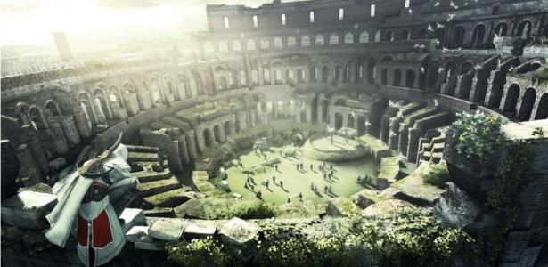 O coliseu de Roma, na Itália, é um dos cartões postais da cidade - Reprodução