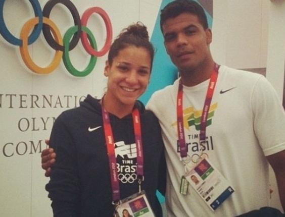 Joanna Maranhão e Luciano Correa