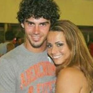 O jogador de futebol Radamés e Viviane Araújo
