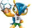Qual é o melhor nome para o tatu-bola mascote da Copa do Mundo de 2014? - Reprodução/Veja