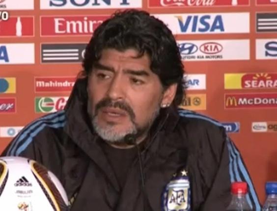 Reprodução Maradona é nomeado embaixador do Esporte em Dubai