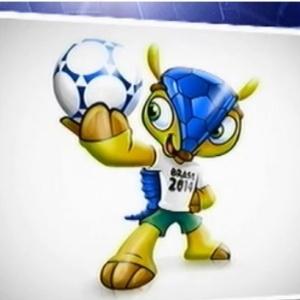 Fifa confirma tatu-bola como mascote da Copa de 2014