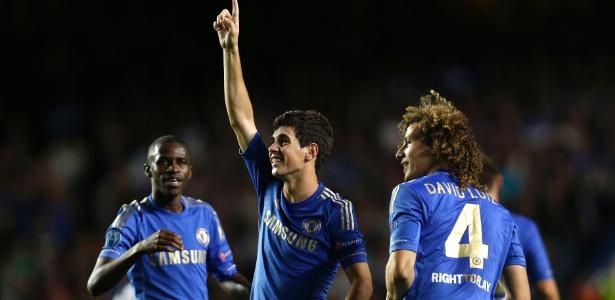 c643c0b703c3f Oscar fez golaço e ganhou vários elogios por atuação destacada em empate do  Chelsea