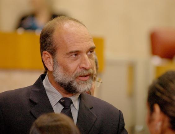 ROBERTO TRIPOLI (PV) - SAO PAULO (SP) - 19 de fevereiro de 2008. Vereador de Sao Paulo Roberto Tripoli (PV)